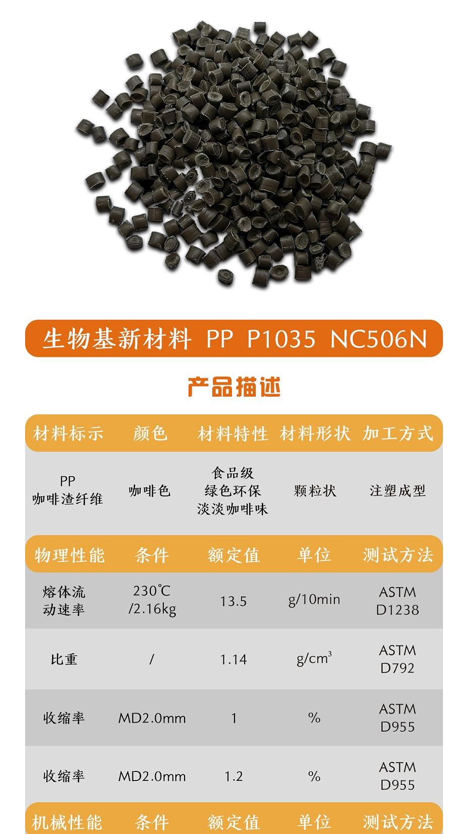 PP咖啡纤维简介1